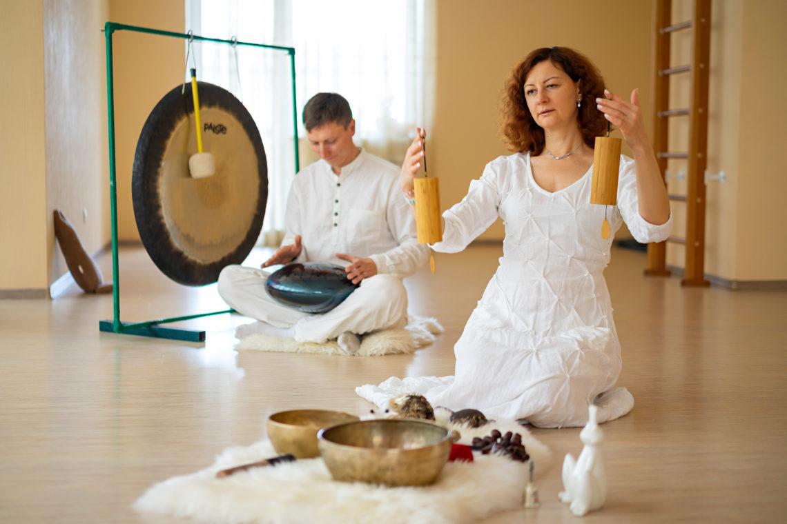 гонг медитация