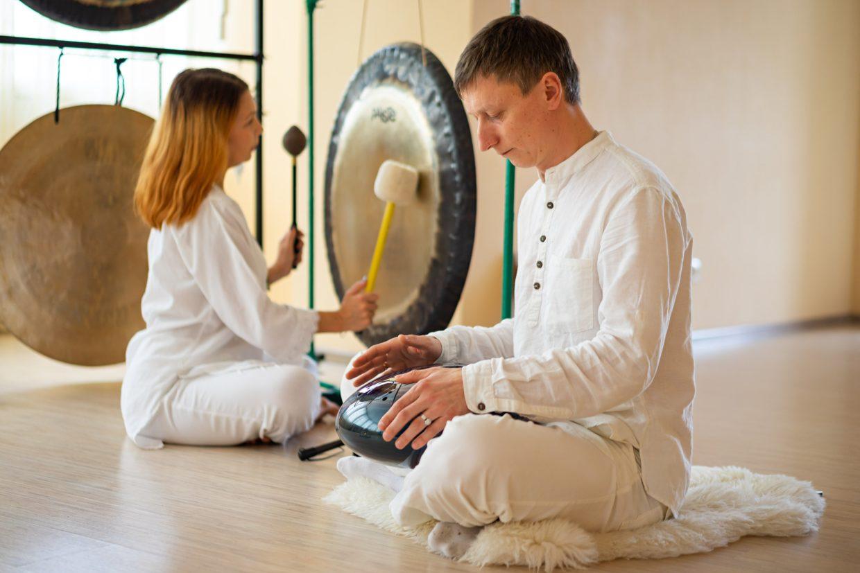 гонг медитация саратов